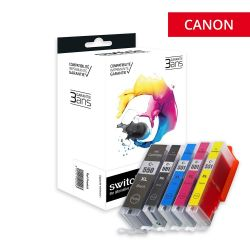 Canon 550XL/551XL - Pack x5...