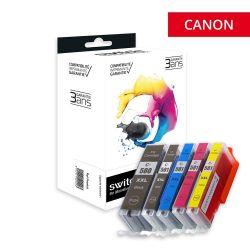 Canon 580/581XXL - Pack x 5...