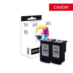 Canon 510/511 - Pack x 2...