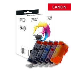 Canon 525/526 - Pack x 5...