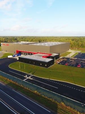 Nouveau bâtiment Prolaser